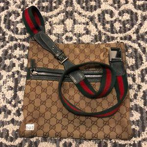 Authentic Gucci Purse cross body